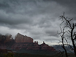 Winter Storm over Sedona