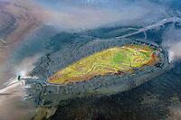 Hallig Norderoog: EUROPA, DEUTSCHLAND, SCHLESWIG- HOLSTEIN, (EUROPE, GERMANY), 30.09.2010: Norderoog ist eine Hallig im Wattenmeer, vor der Westkueste von Schleswig-Holstein mit einer Größe von 0,09 km². Abgesehen vom zeitweiligen Aufenthalt von Vogelwarten ist sie unbewohnt. Verwaltungsmaessig ist sie Teil der zum Kreis Nordfriesland gehoerenden Gemeinde Hooge..