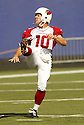 Scott Player during the NY Giants v. Arizona Cardinals game on September 11, 2005. Giants win 42-19..Kevin Tanaka / SportPics