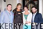 Darragh Lenihan, Jean Rearden, Susan Burke and Niall Gibbons Killarney seeing in the New year at the Arbutus Hotel Killarney