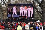 Motorsport: DTM Vorstellung  2008 Duesseldorf<br /> <br /> Ralf Schumacher , links, und der Rest der  Rennfahrer  bei der Praesentation in Duesseldorf .<br /> <br /> <br /> Foto &copy; nph (nordphoto)
