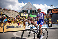 Stage winner Thibaut Pinot (FRA/Groupama FDJ)<br /> <br /> Stage 14: Tarbes to Tourmalet (117km)<br /> 106th Tour de France 2019 (2.UWT)<br /> <br /> ©kramon