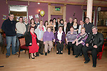 Joan Matthews with friends and family at her 60th in The Thatch...Photo NEWSFILE/Jenny Matthews.(Photo credit should read Jenny Matthews/NEWSFILE)....This Picture has been sent you under the condtions enclosed by:.Newsfile Ltd..The Studio,.Millmount Abbey,.Drogheda,.Co Meath..Ireland..Tel: +353(0)41-9871240.Fax: +353(0)41-9871260.GSM: +353(0)86-2500958.email: pictures@newsfile.ie.www.newsfile.ie.FTP: 193.120.102.198.
