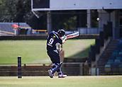 4th October 2017, WACA Ground, Perth, Australia; 2017 JLT One Day Cup, Tasmania versus Victoria; Victorian Bushrangers Cameron White pulls for 4 more runs on his way to 165