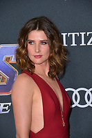 "LOS ANGELES, USA. April 22, 2019: Cobie Smulders at the world premiere of Marvel Studios' ""Avengers: Endgame"".<br /> Picture: Paul Smith/Featureflash"