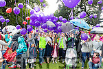 Pictured at the Balloon release in Tralee Town Park on Sunday afternoon last.