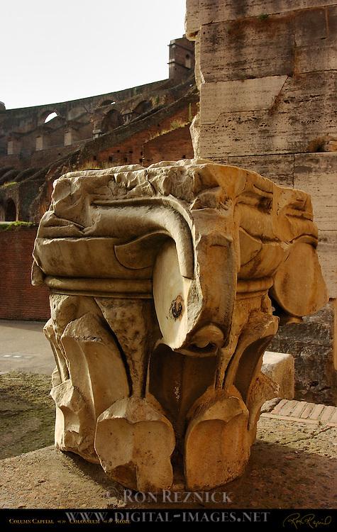 Composite Capital Colosseum Rome
