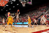 Stanford, CA December 17, 2019. The Stanford Cardinal Men's Basketball Team vs San Francisco Dons at Maples Pavilion.  Stanford Cardinal defeats San Francisco Dons  64-56