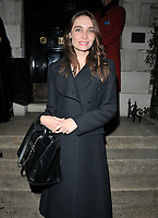 Anna Danshina out &amp; about, spotted at the Annabel's restaurant, Annabel's, Berkeley Square, London, England, UK, on Monday 05 November 2018.<br /> CAP/CAN<br /> &copy;CAN/Capital Pictures
