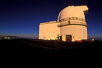 Observatories on Mauna Kea. Big Island of Hawaii