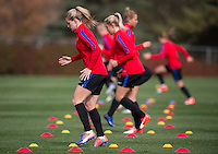 USWNT Training, October 21, 2016