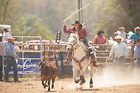 VHSRA- Powhatan, VA - 4.13.2014 - Tie Down Roping