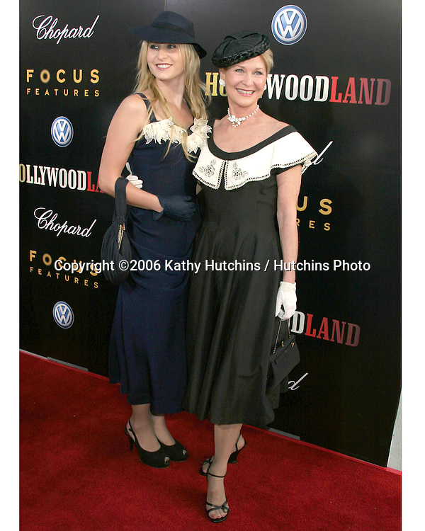 "Dee Wallace and daughter Gabrielle Stone.""Hollywoodland"" Premiere.Academy of Motion Pictures Arts and Sciences.Beverly Hills, CA.September 7, 2006.©2006 Kathy Hutchins / Hutchins Photo...."