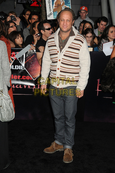 Scott Krinsky.The Los Angeles premiere of 'The Twilight Saga Breaking Dawn Part 1' at Nokia Theatre at L.A. Live in Los Angeles, California, USA..November 14th, 2011.full length jeans denim white cardigan beige.CAP/ADM/BP.©Byron Purvis/AdMedia/Capital Pictures.