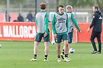 10.01.2020, Sportzentrum RCD Mallorca, Son Bibiloni, ESP, TL Werder Bremen -  Training Tag 07<br /> <br /> im Bild / picture shows <br /> Joshua Sargent (Werder Bremen #19)<br /> Maximilian Eggestein (Werder Bremen #35)<br /> Davy Klaassen (Werder Bremen #30)<br /> Florian Kohfeldt (Trainer SV Werder Bremen)<br /> <br /> <br /> Foto © nordphoto / Kokenge