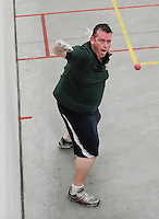 20th September 2014; <br /> Conor O'Connor of Meath<br /> M Donnelly All-Ireland Mens Over-35 60x30 Handball Singes Final<br /> Dale Cusack (Cork) v Conor O'Connor (Meath)<br /> Abbeylara, Co Longford<br /> Picture credit: Tommy Grealy/actionshots.ie