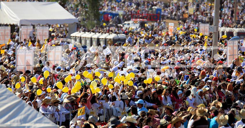 Pope Benedict visited some places in Guanajuato in his first stay on land mexicanas.Joseph Ratzinger.<br /> El Papa Benedicto XVI visito algunos lugares de Guanajuato en su primera  estadia en   tierras mexicanas.Joseph Ratzinger. <br /> *Photo&copy;TiradorTercero/ NortePhoto ** Pope Benedict visited some places in Guanajuato in his first stay on land mexicanas.Joseph Ratzinger.<br /> El Papa Benedicto XVI visito algunos lugares de Guanajuato en su primera  estadia en   tierras mexicanas.Joseph Ratzinger. <br /> *Photo&copy;TiradorTercero/ NortePhoto **