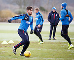 Harry Forrester at training