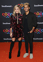 08 November 2017 - Hollywood, California - Lindsay Arnold, Jordan Fisher. Disney Pixar's &quot;Coco&quot; Los Angeles Premiere held at El Capitan Theater. <br /> CAP/ADM/FS<br /> &copy;FS/ADM/Capital Pictures