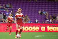 Orlando, FL - Tuesday August 08, 2017: Tori Huster during a regular season National Women's Soccer League (NWSL) match between the Orlando Pride and the Chicago Red Stars at Orlando City Stadium.