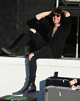 FORT LAUDERDALE BEACH, FL - DECEMBER 02: Barns Courtney poses for a portrait backstage during The Riptide Music Festival on December 2, 2017 in Fort Lauderdale Beach Florida. Credit: mpi04/MediaPunch