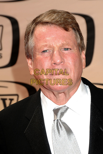 RYAN O'NEAL.8th Annual TV Land Awards - Arrivals, at Sony Pictures Studios,  Culver City, California, USA, 17th April 2010..portrait headshot silver tie white black shirt .CAP/ADM/BP.©Byron Purvis/AdMedia/Capital Pictures.