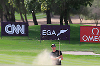 Henrik Stenson (SWE) on the 1st during Round 2 of the Omega Dubai Desert Classic, Emirates Golf Club, Dubai,  United Arab Emirates. 25/01/2019<br /> Picture: Golffile | Thos Caffrey<br /> <br /> <br /> All photo usage must carry mandatory copyright credit (© Golffile | Thos Caffrey)
