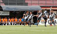 GUARULHOS, SP, 04 JANEIRO 2011 - COPA SAO PAULO DE FUTEBOL JUNIOR 2012 - <br /> Lance da partida entre as equipes do Flamengo-SP x Ponte Preta realizada no Est&aacute;dio Municipal Ant&ocirc;nio Soares de Oliveira Guarulhos (SP), v&aacute;lida pela 1&ordf; Rodada do Grupo X da Copa S&atilde;o Paulo de Futebol Junior 2012, nesta quarta-feira, 04. (FOTO: ALE VIANNA - NEWS FREE).