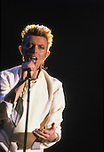 DAVID BOWIE - performing live on the Earthling Tour at the Maison des Sports in Clermont-Ferrand France - 19 Jun 1997.  Photo credit: Anja/Dalle/IconicPix  **UK ONLY**