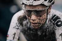 Sanne Cant (BEL/Iko-Beobank) post-finish<br /> <br /> Women's Race<br /> CX Vlaamse Druivencross Overijse 2017