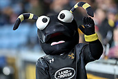2nd December 2017, Rioch Arena, Coventry, England; Aviva Premiership rugby, Wasps versus Leicester; The Wasps mascot waving to the fans