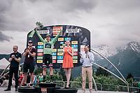 Daryl Impey (ZAF/Mitchelton-Scott) wins the Dauphiné's green jersey<br /> <br /> Stage 7: Moûtiers > Saint-Gervais Mont Blanc (129km)<br /> 70th Critérium du Dauphiné 2018 (2.UWT)