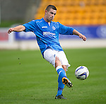 St Johnstone v Ross County....SPFL Development League...19.08.14<br /> Matthew Buchanan<br /> Picture by Graeme Hart.<br /> Copyright Perthshire Picture Agency<br /> Tel: 01738 623350  Mobile: 07990 594431