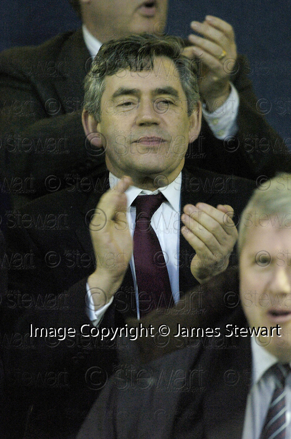 02/05/2007       Copyright Pic: James Stewart.File Name : sct_jspa05_raith_rovers_v_stirling_albion.GORTDON BROWN TAKES HIS SEAT IN THE STAND TO WATCH THE SECOND HALF OF THE RAITH ROVER'S V STIRLING ALBION GAME.James Stewart Photo Agency 19 Carronlea Drive, Falkirk. FK2 8DN      Vat Reg No. 607 6932 25.Office     : +44 (0)1324 570906     .Mobile   : +44 (0)7721 416997.Fax         : +44 (0)1324 570906.E-mail  :  jim@jspa.co.uk.If you require further information then contact Jim Stewart on any of the numbers above.........