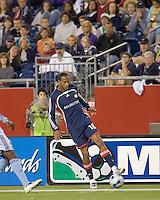 New England Revolution forward Khano Smith (18). The New England Revolution defeated the Colorado Rapids, 1-0, at Gillette Stadium in Foxboro, MA on September 29, 2007.