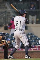 April 20, 2010: Tyler Massey (21) of the Asheville Tourists at Applebee's Park in Lexington, KY. Photo by: Chris Proctor/Four Seam Images