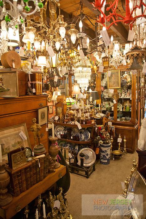 Peter Wallace Antique Store, Lambertville, New Jersey