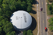 Marquette water tank, Upper Peninsula of Michigan.