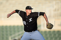 Kannapolis Intimidators starting pitcher Brannon Easterling (38) in action against the Greenville Drive at Intimidators Stadium on June 7, 2016 in Kannapolis, North Carolina.  The Drive defeated the Intimidators 5-2 in game two of a double header.  (Brian Westerholt/Four Seam Images)