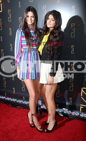 April 23, 2012 Kendall Jenner, Kylie Jenner  asisten a la inauguración del restaurante RYU en 46 Gansevort Street en Nueva York.<br /> (* Foto*©RW/MediaPunch*/NortePhoto.com*)<br /> * ** SOLO*VENTA* EN*MÉXICO * *