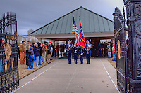 "Today Dec. 12, 2009 citizens of Fort Smith honored the servicemen and women of our community, who have made the ultimate sacrifice for nation. Family, friends and volunteers transformed the Fort Smith National Cemetery by placing one wreath on each of the 12,000 headstones in their honor...The ""Christmas Honors"" was derived from Wreaths Across America where as part of the program, the Arlington National Cemetery's gravesites are decorated every Christmas season with wreaths with red ribbons to honor those who have given their lives to provide the freedoms we enjoy in our beloved Nation. The cemetery is transformed into a vision of beauty, and the families of those buried at Arlington take comfort in seeing the respect that is shown to their grandfathers, fathers, mothers, sons, daughters, brothers, sisters, friends and other fallen heroes who so loved our Country."