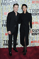 03 March 2019 - New York, New York - Ben McKenzie and Morena Baccarin. The World Premiere of &quot;Triple Frontier&quot; at Jazz at Lincoln Center. <br /> CAP/ADM/LJ<br /> &copy;LJ/ADM/Capital Pictures