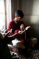 Worshippers at Makhdoom Sahib Shrine in Srinagar, Kashmir,India. © Fredrik Naumann/Felix Features