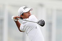 Satoshi Kodaira (JPN) tees off on the 14th hole during the second round of the 118th U.S. Open Championship at Shinnecock Hills Golf Club in Southampton, NY, USA. 15th June 2018.<br /> Picture: Golffile | Brian Spurlock<br /> <br /> <br /> All photo usage must carry mandatory copyright credit (&copy; Golffile | Brian Spurlock)