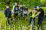 Ready for Cross County Mountain Bike cycling event in the Tralee town park on Saturday morning.<br /> Front l to r: Joe Halloran and Jason Scannell.<br /> Back l to r: Luke Connelly, Joesph Moriarty, Jack O'Connor and Jamie Scannel.