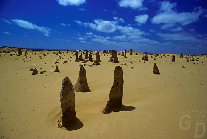 The Pinnacle deseert in Western Australia