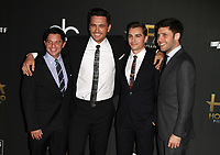 BEVERLY HILLS, CA - NOVEMBER 5: James Franco, Dave Franco, Scott Neustadter, Michael H. Weber, at The 21st Annual Hollywood Film Awards at the The Beverly Hilton Hotel in Beverly Hills, California on November 5, 2017. <br /> CAP/MPI/FS<br /> &copy;FS/MPI/Capital Pictures