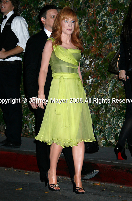 WEST HOLLYWOOD, CA. - November 18: Actress Kathy Griffin arrives at the GQ Men of the Year party held at the Chateau Marmont Hotel on November 18, 2008 in Los Angeles, California.