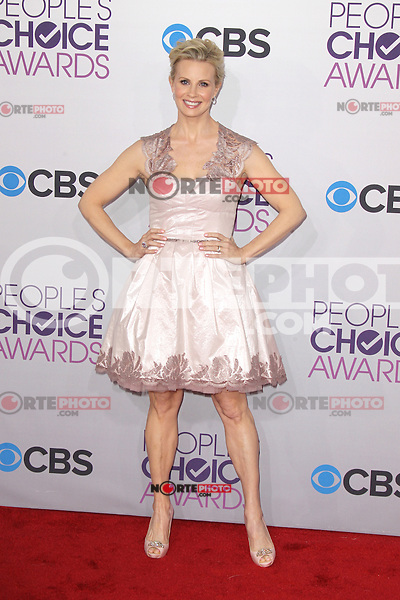 LOS ANGELES, CA - JANUARY 09: Monica Potter at the 39th Annual People's Choice Awards at Nokia Theatre L.A. Live on January 9, 2013 in Los Angeles, California. Credit: mpi21/MediaPunch Inc. /NORTEPHOTO