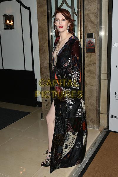 Karen Elson<br /> Harper's Bazaar Women of the Year 2015 awards,  Claridges Hotel n London, November 03, 2015.<br /> CAP/PL<br /> &copy;Phil Loftus/Capital Pictures